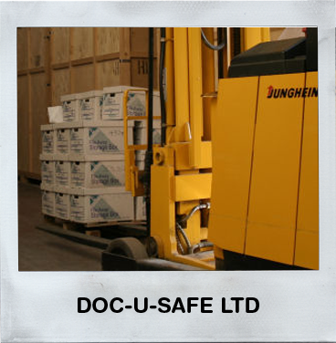 Doc-U-Safe Ltd - Data storage for all clients with access 24/7