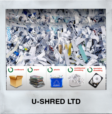 U-Shred Ltd - Confidental Shredding - Paper Shredding - Electronic Media Shredding - Uniform Destruction - Hard Drive Destruction