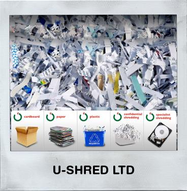 U-Shred Ltd - Confidental Shredding - Paper Shredding - Electronic Media Shredding - Uniform Destruction - Hard Drive Destruction